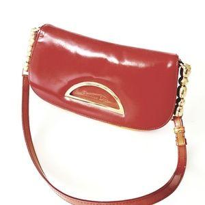 Christian Dior Two Toned Shoulder Bag